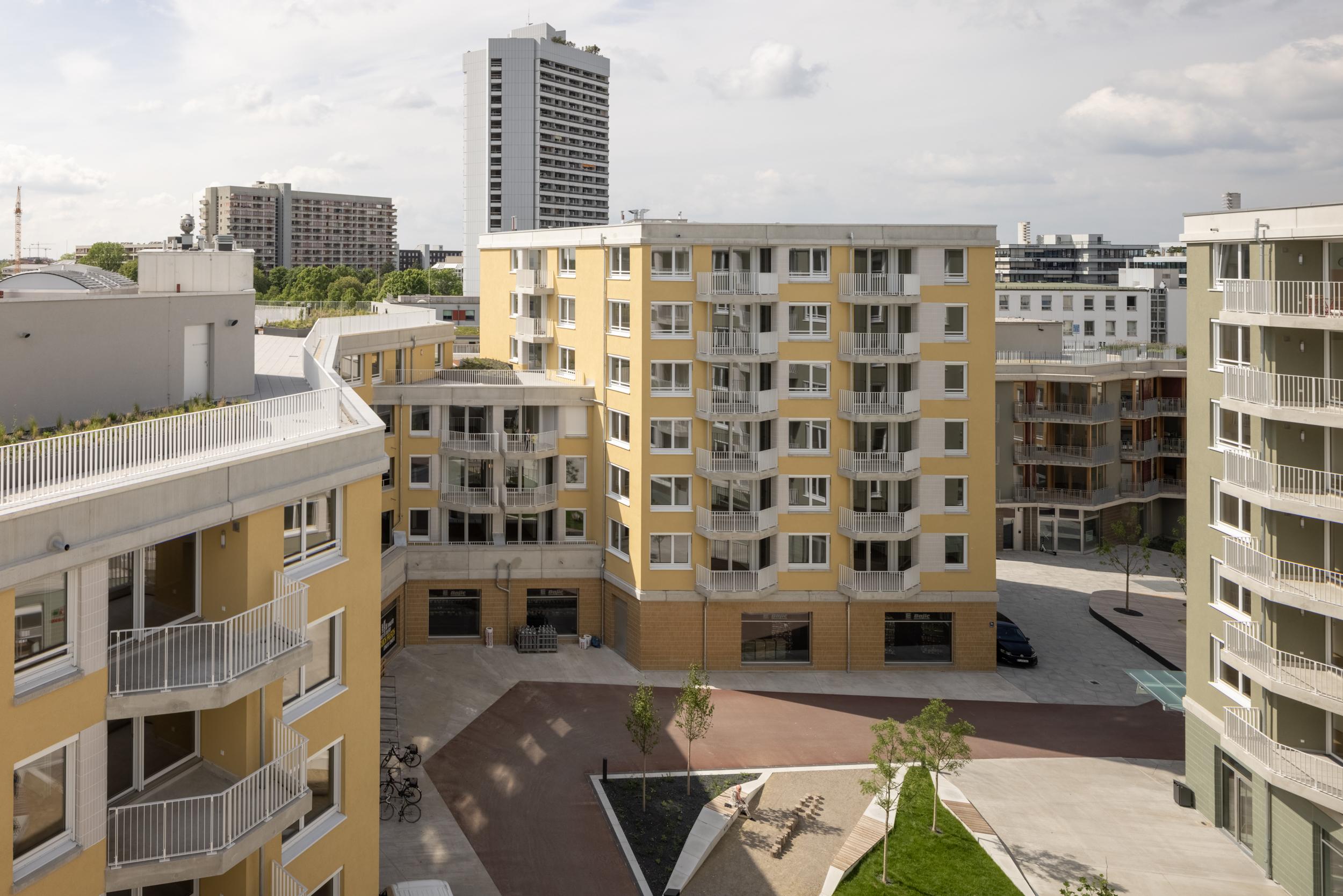 Meili Peter dreisterneplus Tübinger Straße München Wohnungsbau