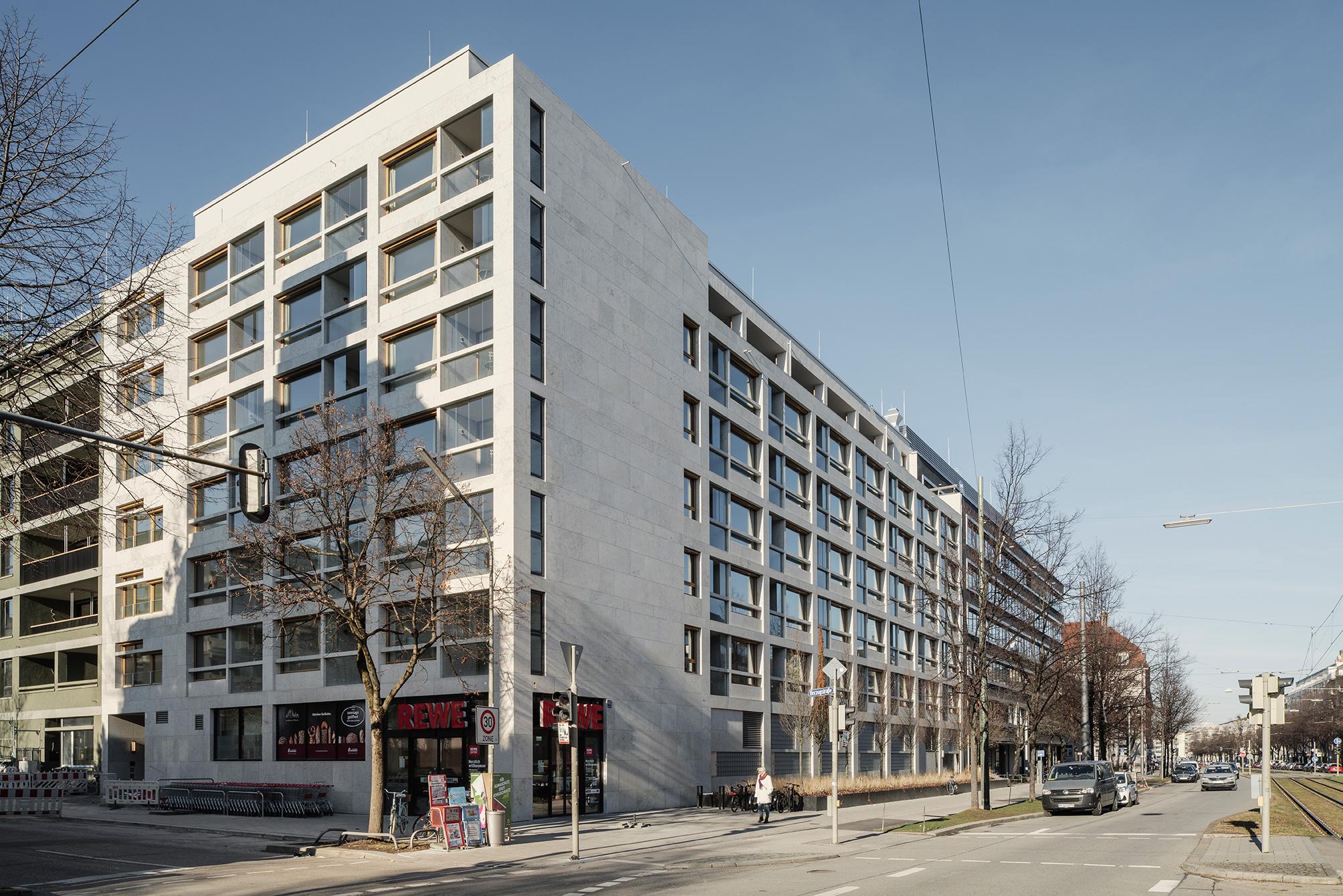 Schwabinger Carre dreisterneplus Architektur München