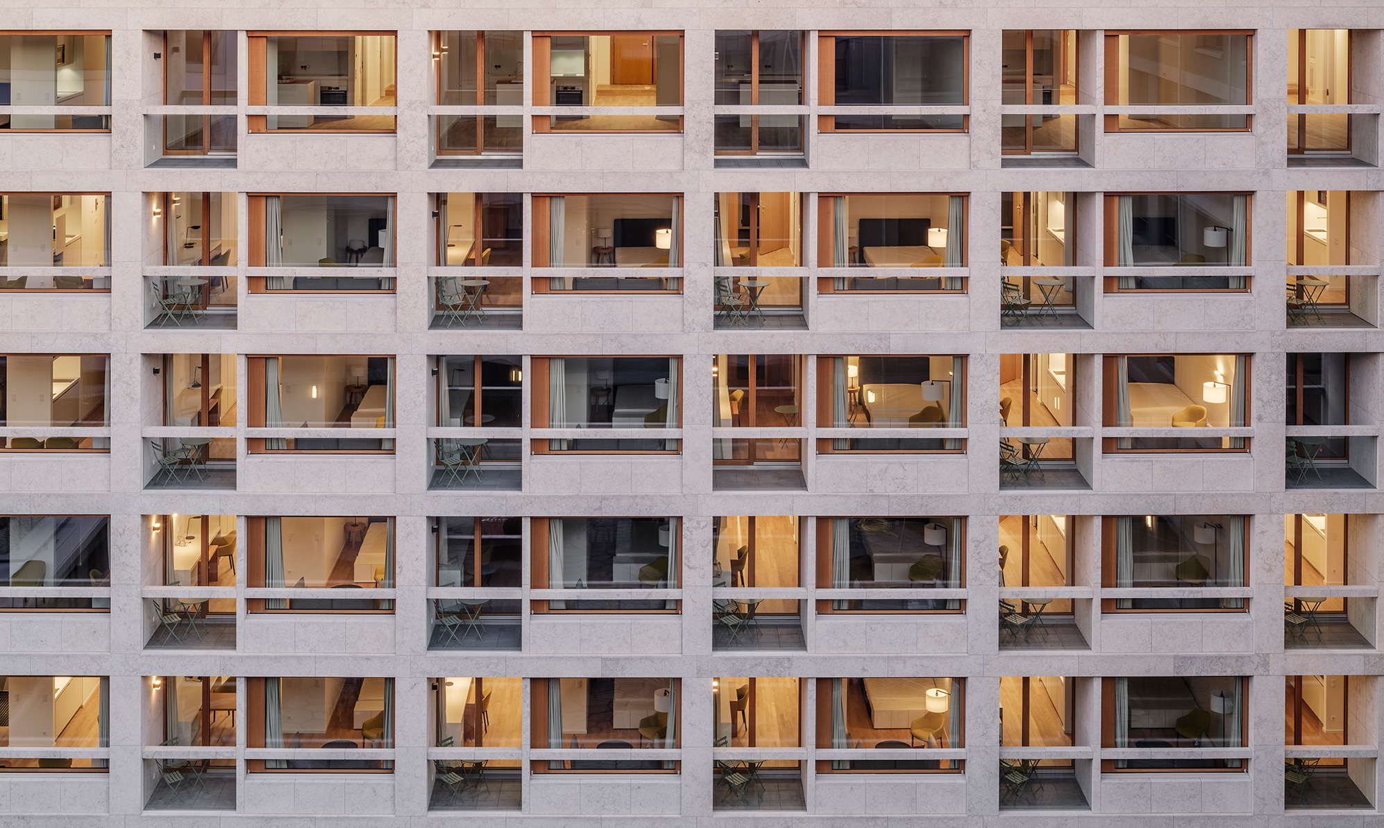 Schwabinger Carre Ansicht dreisterneplus Architektur München