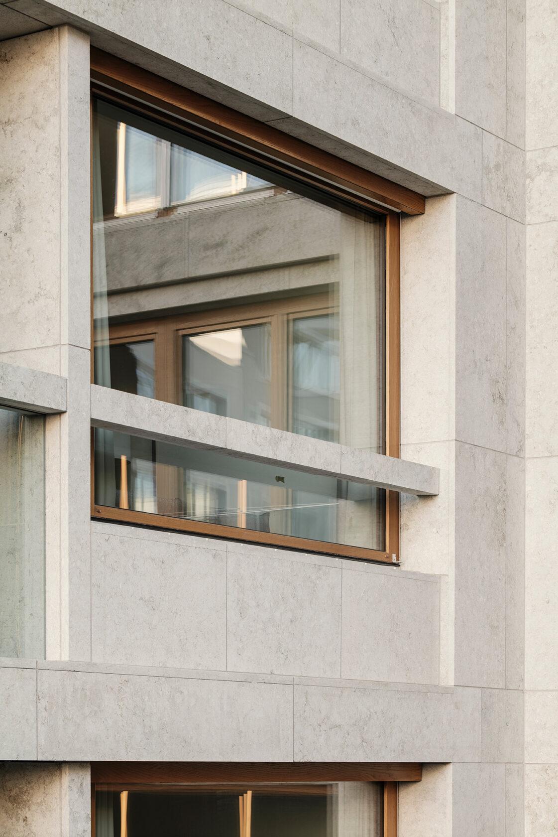 Schwabinger Carre Fensterelement dreisterneplus Architektur München