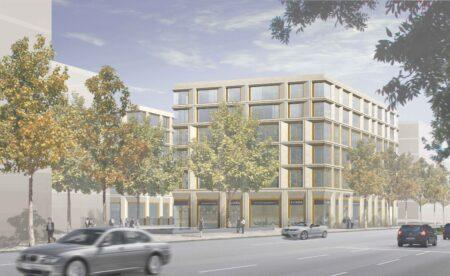 Schwabing Tor dreisterneplus Wohnungsbau städtische Dichte