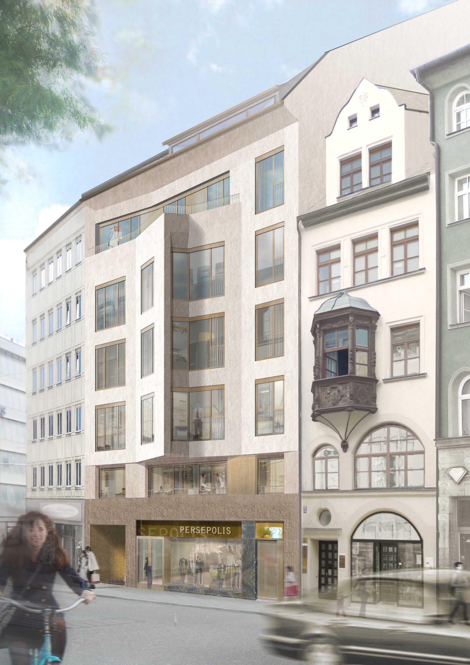 Altheimer Eck München dreisterneplus Meili Peter Wohnhaus