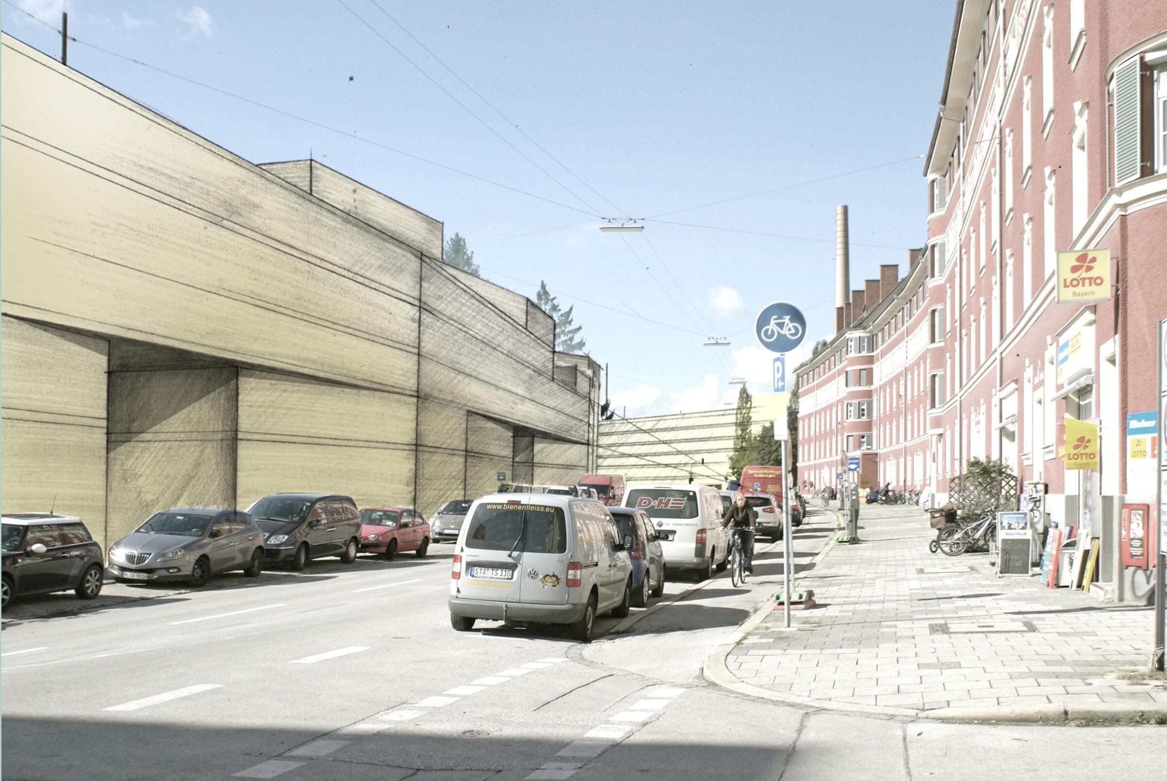 Paulaner Welfenstraße Meili Peter dreisterneplus münchen Wohnungsbau