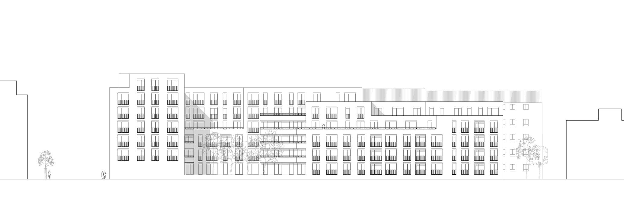 Krifteler Straße Frankfurt Wohnungsbau dreisterneplus Meili Peter