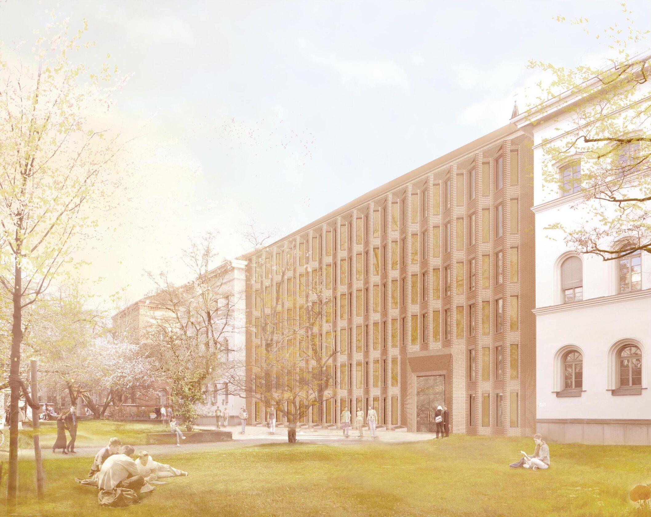 Philologicum München Wettbewerb dreisterneplus Meili Peter Bibliothek