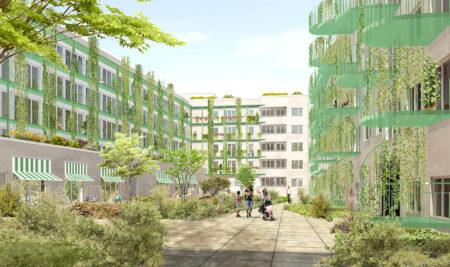 München Freikam Nord Wohnungsbau Wettbewerb Meili Peter dreisterneplus