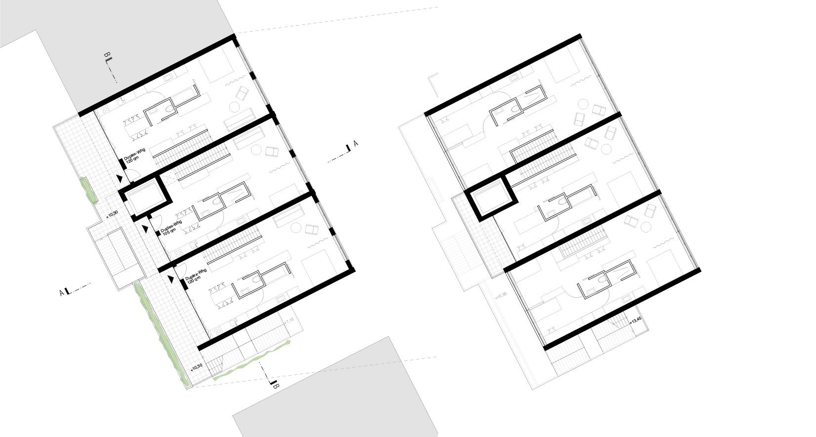 Neckarbogen Heilbronn Wohnhaus Wettbewerb Meili Peter dreisterneplus